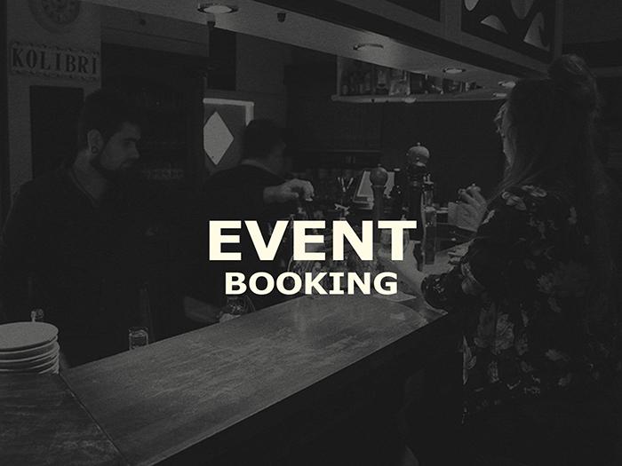 Kolibri Event Booking