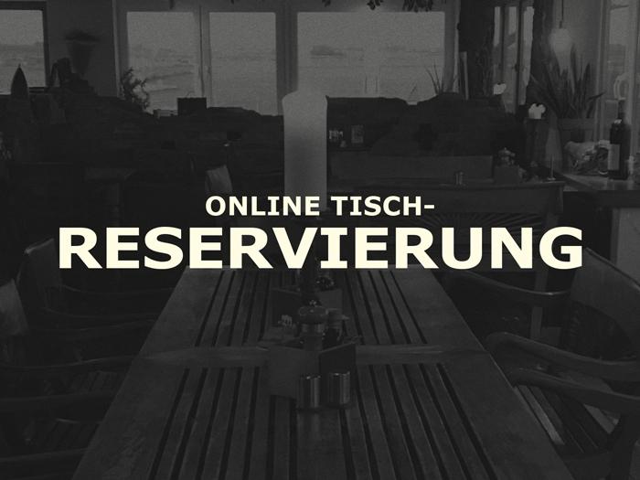 Online Tisch-Reservierung
