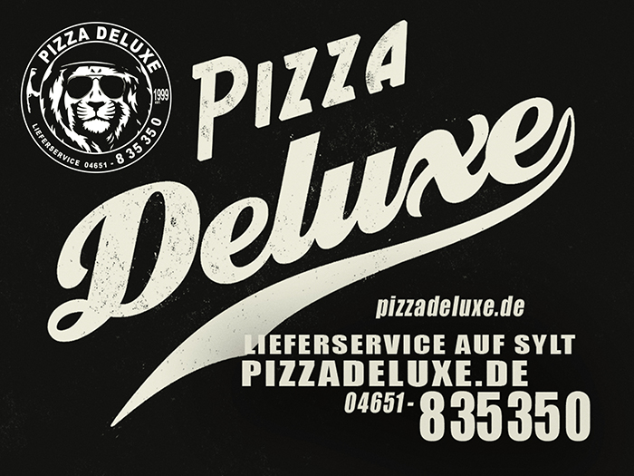 Pizza Deluxe Lieferservice - Sylt