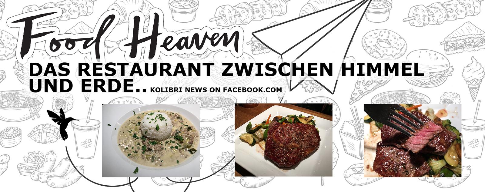 FOOD HEAVEN. Kolibri, das Restaurant zwischen Himmel und Erde.