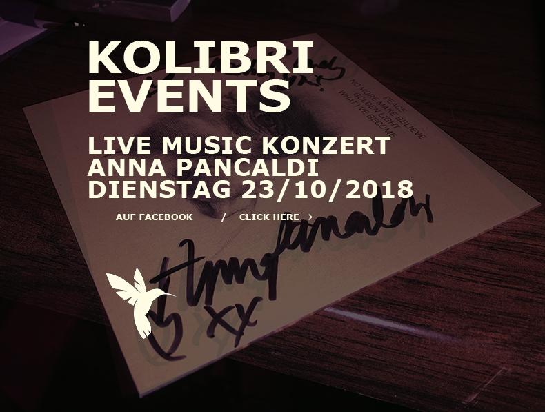 Kolibri Sylt. Live Music Concerts und die offene Bühne im Kolibri am Flughafen.